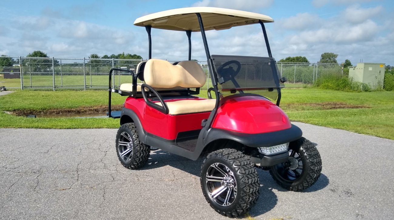 2015 Club Car Precedent Custom Golf Cart - East Carolina